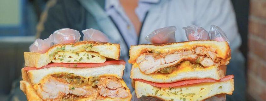 台中本心三明治甜點