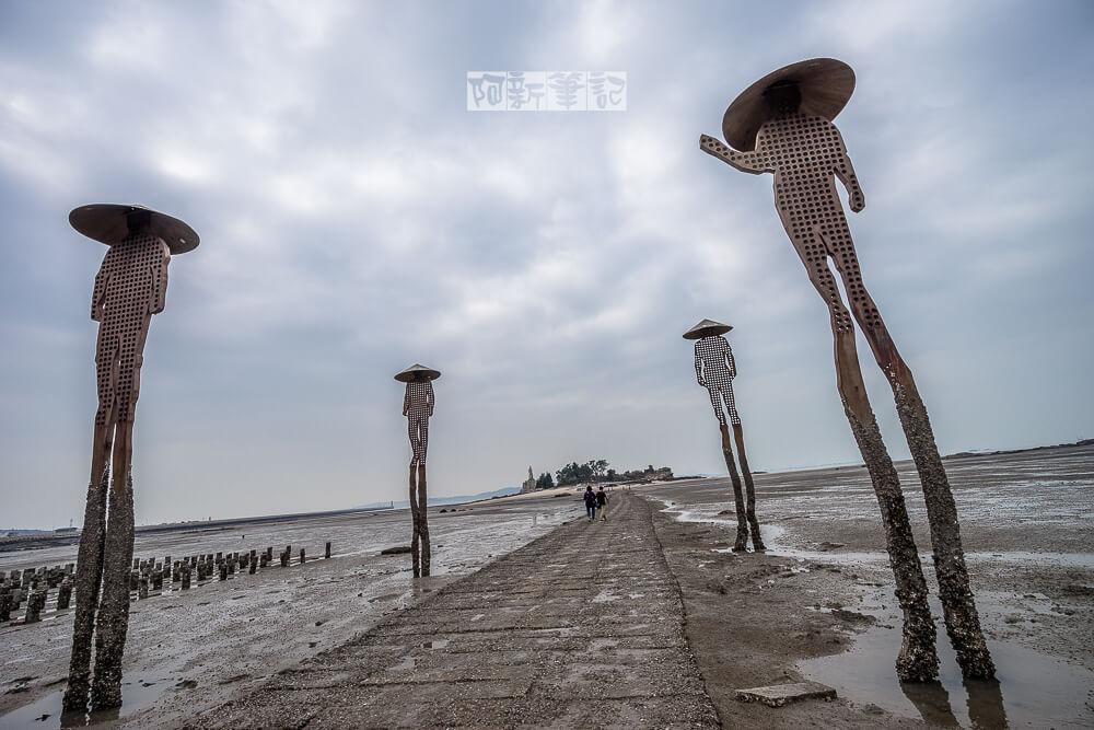 【金門景點】建功嶼 離海岸最近的神祕小島,漲退潮限定版,沒看好時間只能撲空…