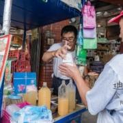 迪化街小吃,迪化街飲料,迪化街金桔檸檬
