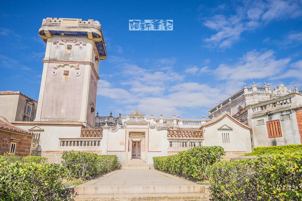得月樓  台灣歷史建築百景之一,最具歷史代表性金門銃樓。