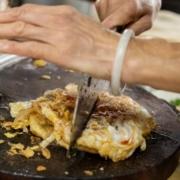 華美美食,馬祖九萬蔥油餅,東莒九萬蔥油餅,九萬蔥油餅,馬祖美食,東莒美食